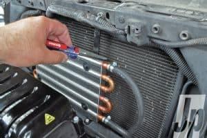 mounting transmission cooler on truck - transmission cooler guide