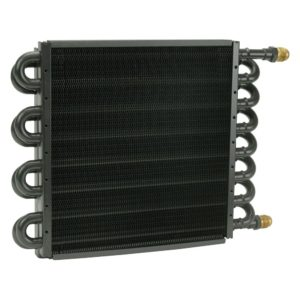 Derale 15300 tube and fin transmission cooler - Transmission Cooler Guide