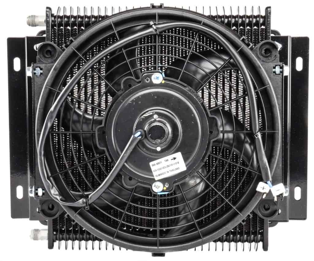 jegs transmission cooler with fan