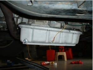 transmission sensor in transmission pan
