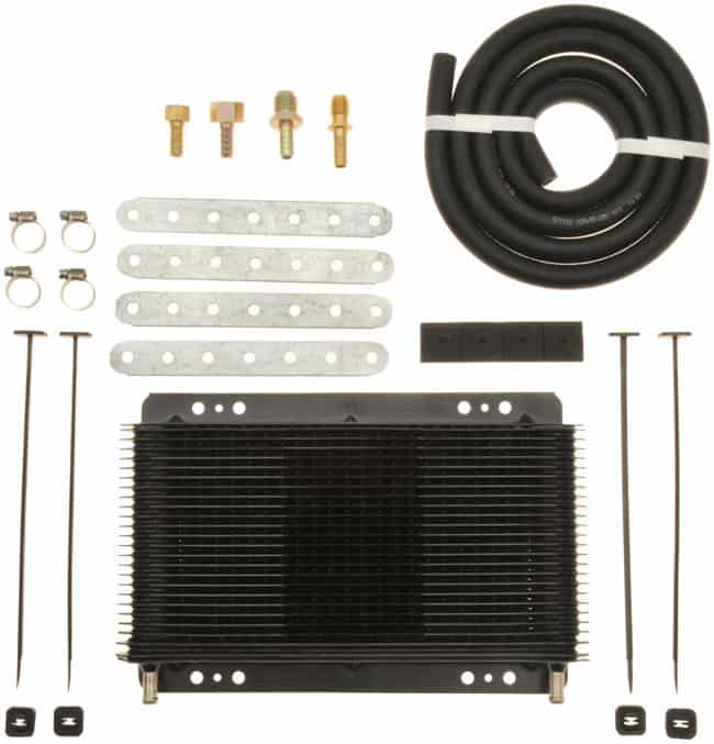 tru cool 4588 transmission cooler with installation kit - Transmission Cooler Guide