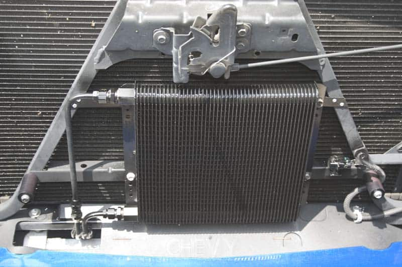 B&M 70274 SuperCooler on Silverado - Transmission Cooler Guide