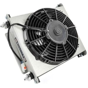 Derale 13870 Hyper Cool Extreme Transmission Cooler With Fan - Transmission Cooler Guide
