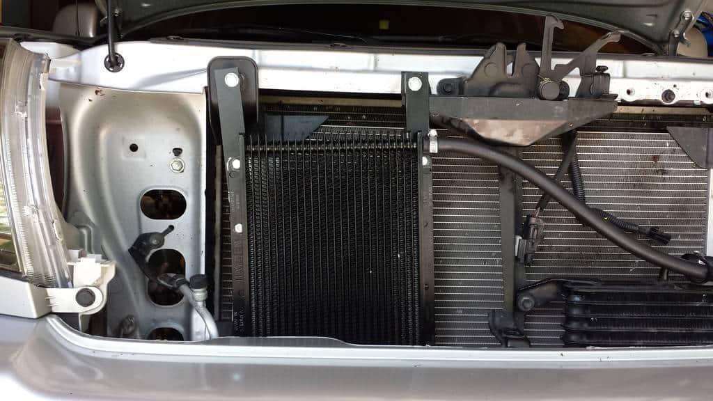 Hayden 678 Transmission Cooler Installation On Toyota Tacoma - Transmission Cooler Guide