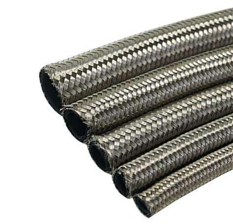 Steel Braided Transmission Cooler Lines - Transmission Cooler Guide