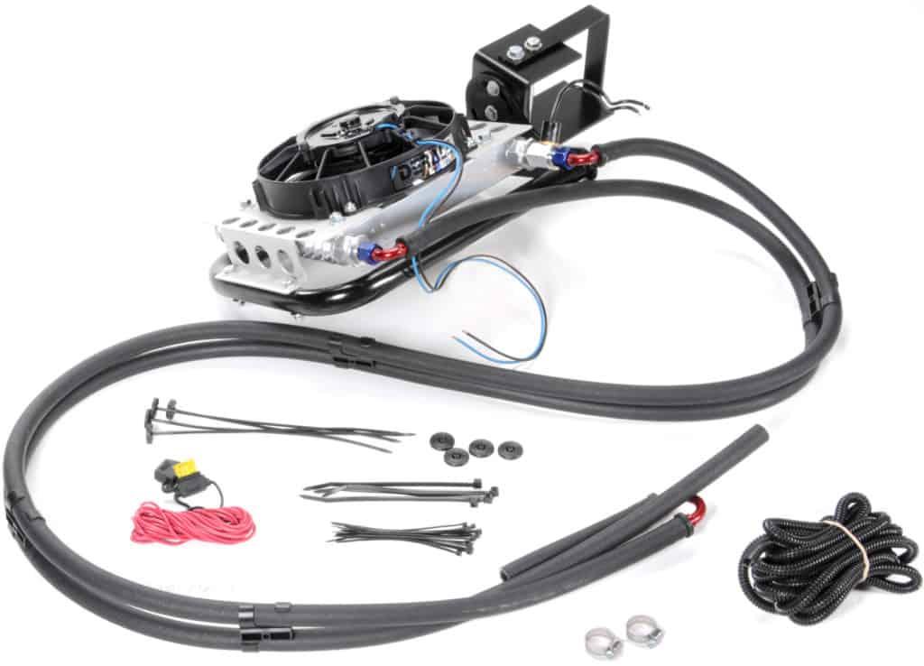 Derale 20561 Jeep Wrangler Direct Fit Transmission Cooler - Transmission Cooler Guide