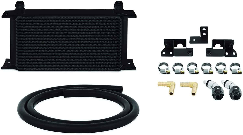 Mishimoto Jeep Wrangler JK Transmission Cooler - Black - Transmission Cooler Guide