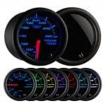 Glowshift Tinted 7 Color Transmission Temperature Gauge - Transmission Cooler Guide