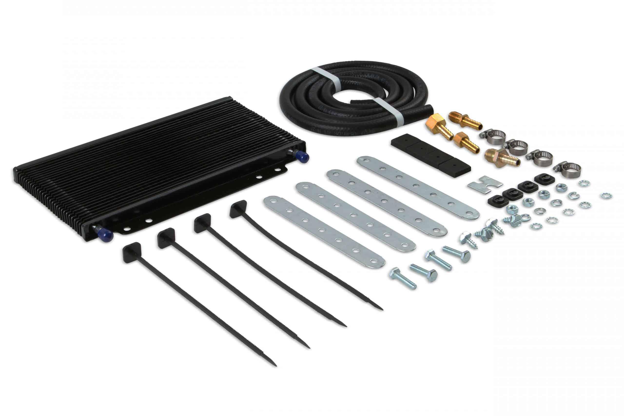 B&M 70255 Transmission Cooler Installation Kit - Transmission Cooler Guide